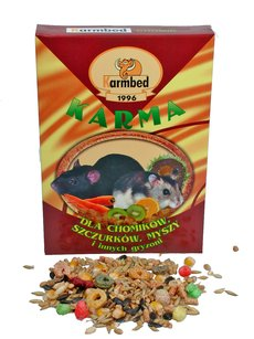 Karmbed - Food for hamsters and other rodents