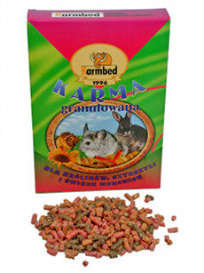 Karmbed - Food of granulated masch
